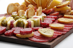 Table argentine d'épicerie (picada) Image libre de droits