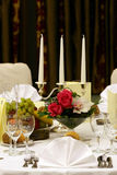 Table arrangement Royalty Free Stock Photos