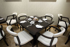 Table arrangement Royalty Free Stock Photo
