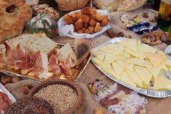 Table arrangement for celebration Royalty Free Stock Photo