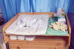 Table for  baby Stock Photography