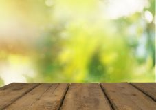 Empty wooden table, wooden planks, background. Table background horizontal design empty texture wooden Royalty Free Stock Photo