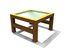 Table basse illustration stock