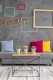 Table basse et sofa photo libre de droits