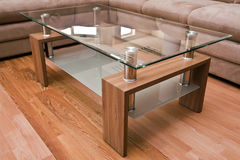 Table basse moderne Photographie stock libre de droits