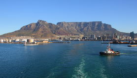 Table Bay harbor Cape Town Royalty Free Stock Image