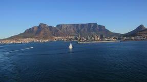 Table Bay harbor Cape Town Royalty Free Stock Photos
