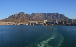 Table Bay harbor Cape Town Stock Images