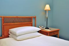 Table at bedside Royalty Free Stock Images