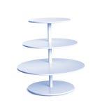 Table bleue de torsion image stock