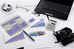 Table businessman Royalty Free Stock Image