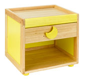 Table cabinet and seat wooden toy Stock Images