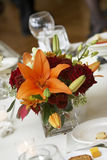 Table center piece - flower detail Royalty Free Stock Photo