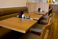 Table and chair design  Restaurant Royalty Free Stock Photography