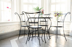 Table and chair Stock Image