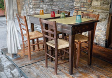 Table and chairs. Stock Image