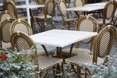 Table and Chairs Royalty Free Stock Images
