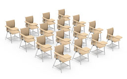 The table chairs Royalty Free Stock Photography