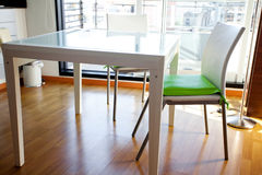 Table and chairs Stock Photos