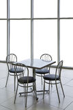 Table and chairs isolated Royalty Free Stock Photo