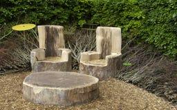 Modern garden Royalty Free Stock Image