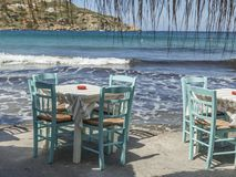 Table And Chairs. Travel Destinations stock image