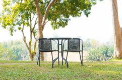 Table and chairs Royalty Free Stock Image