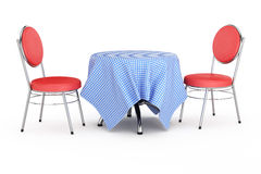 Table and chairs Royalty Free Stock Photos