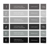 Table, chart, schedule. Royalty Free Stock Photos
