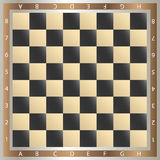 Table of chess Royalty Free Stock Photos