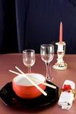 Table chinoise de Noël Photos libres de droits