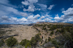 Table Cliff Plateau - Garfield County, UT Overlook Stock Photo