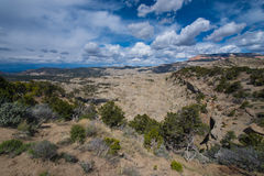 Table Cliff Plateau - Garfield County, UT Overlook Stock Photos
