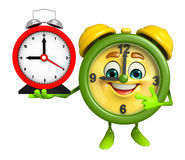 Table clock Character Stock Photos