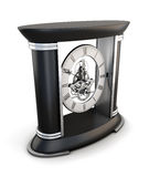 Table clock on the stand Stock Photos