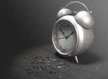 Table Clock Time Run Out Royalty Free Stock Photography