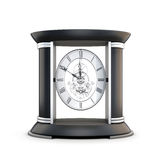 Table clock with visible mechanism Stock Photos