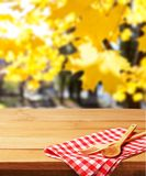 Table cloth Stock Image