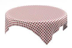 Table cloth stock illustration