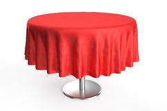 Table cloth Stock Photo
