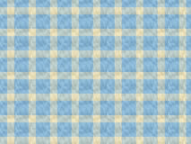 Table Cloth Pattern. A textured light blue and cream table cloth pattern Stock Photos