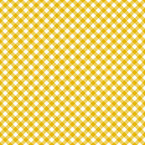 Table cloth seamless pattern yellow Stock Photo