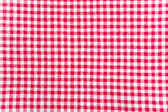 Table cloth texture Royalty Free Stock Images
