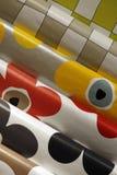 Table cloths - tarpaulin Royalty Free Stock Photos
