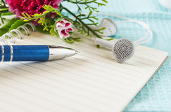 Table of composer Royalty Free Stock Photo