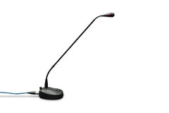 Table conference microphone Stock Photo