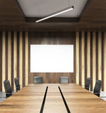 Table in conference room Stock Photography