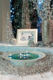Table décorée Images stock