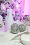 Table décorée Image stock