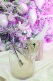Table décorée Photographie stock
